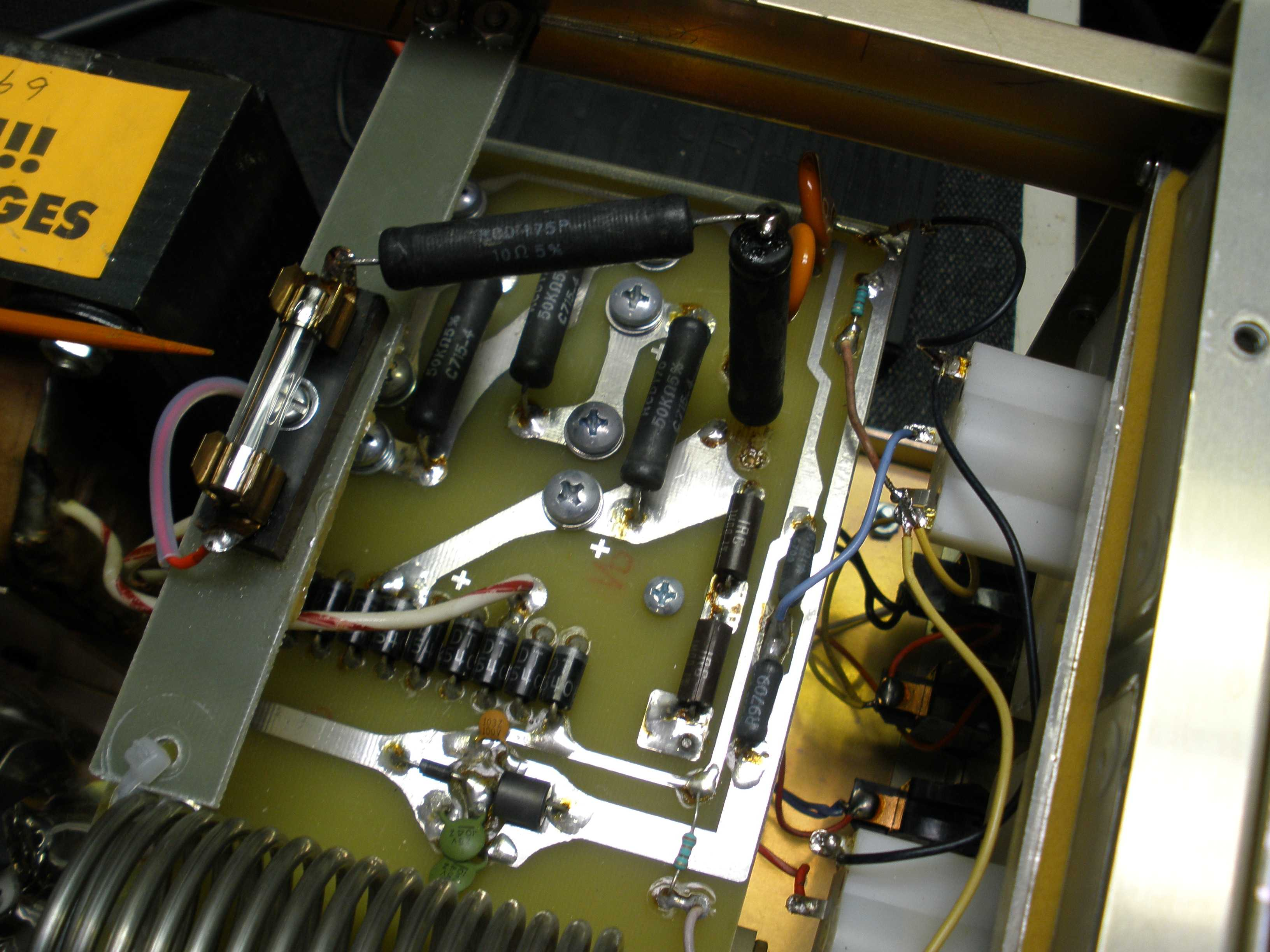 W8JI Ameritron AL-811H Modification Photos & Instructions